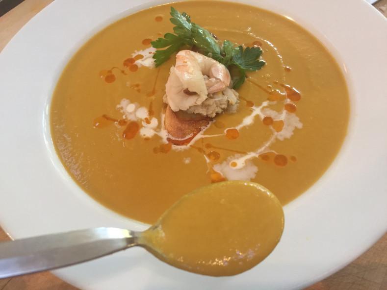 Shrimp & Crab Bisque Sous Vide
