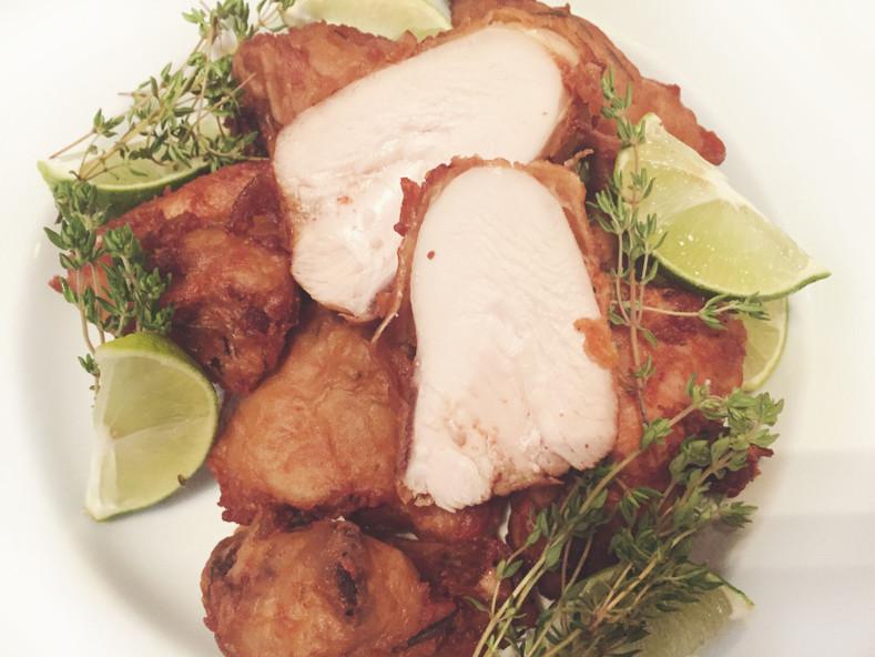 Batter Fried Chicken Sous Vide