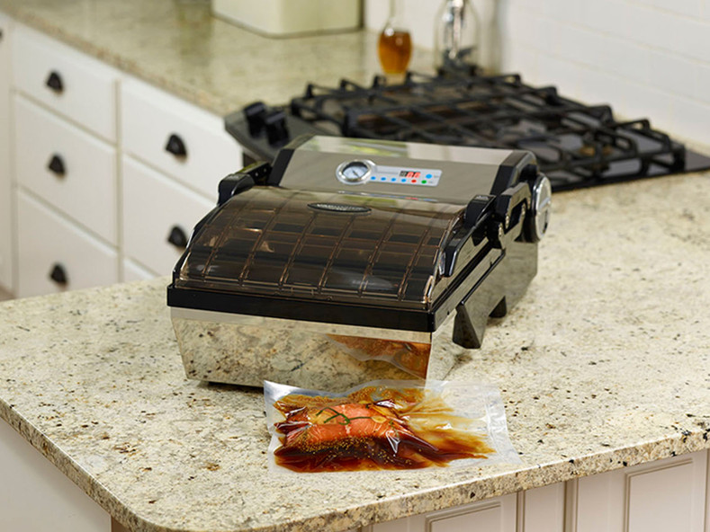 Our Best Selling home chamber vacuum sealer... reimagined! Pre-Order the VP112S Now!