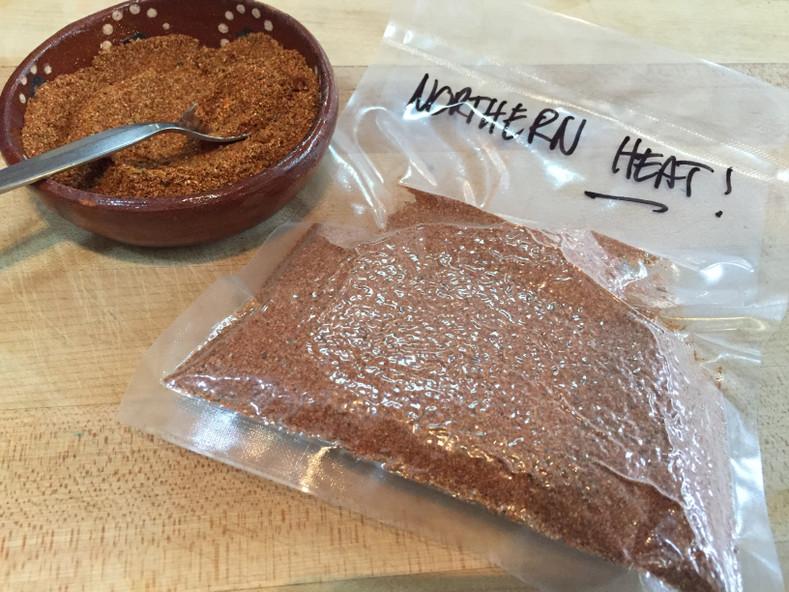 """Northern Heat"" Chili Spice Blend"