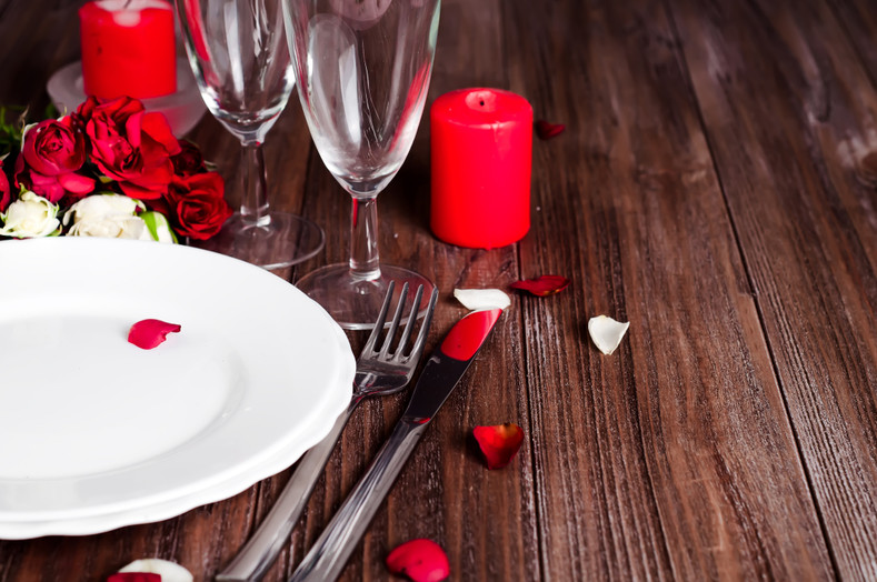 Love at First Bite, Three Course Valentine's Menu