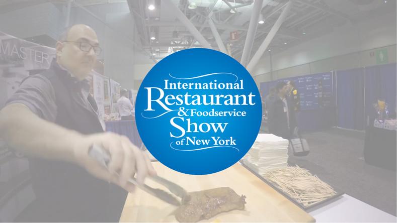 2019 International Restaurant & Foodservice Show of New York