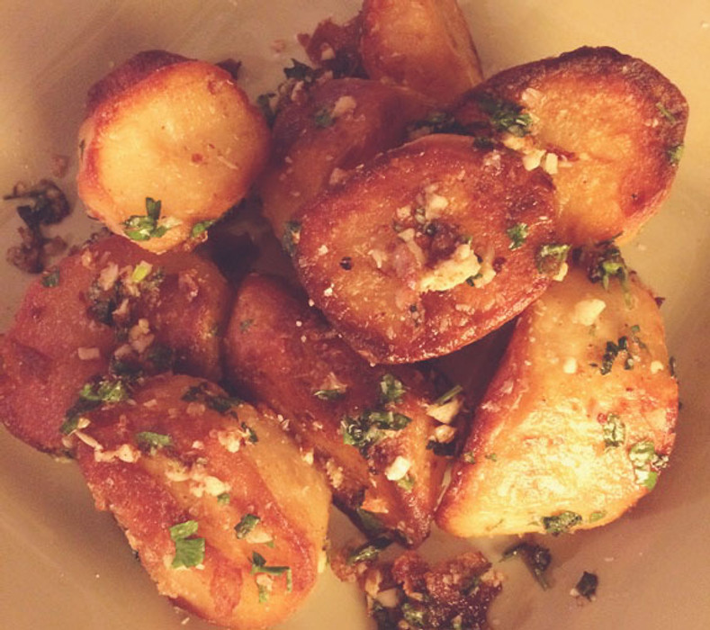 Bonus Recipe--Crispy Goose Fat Potatoes!!