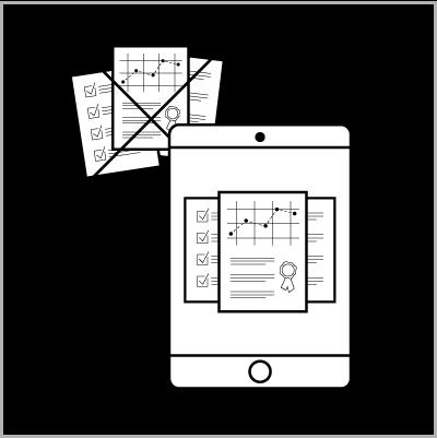 Paperless Documentation Icon