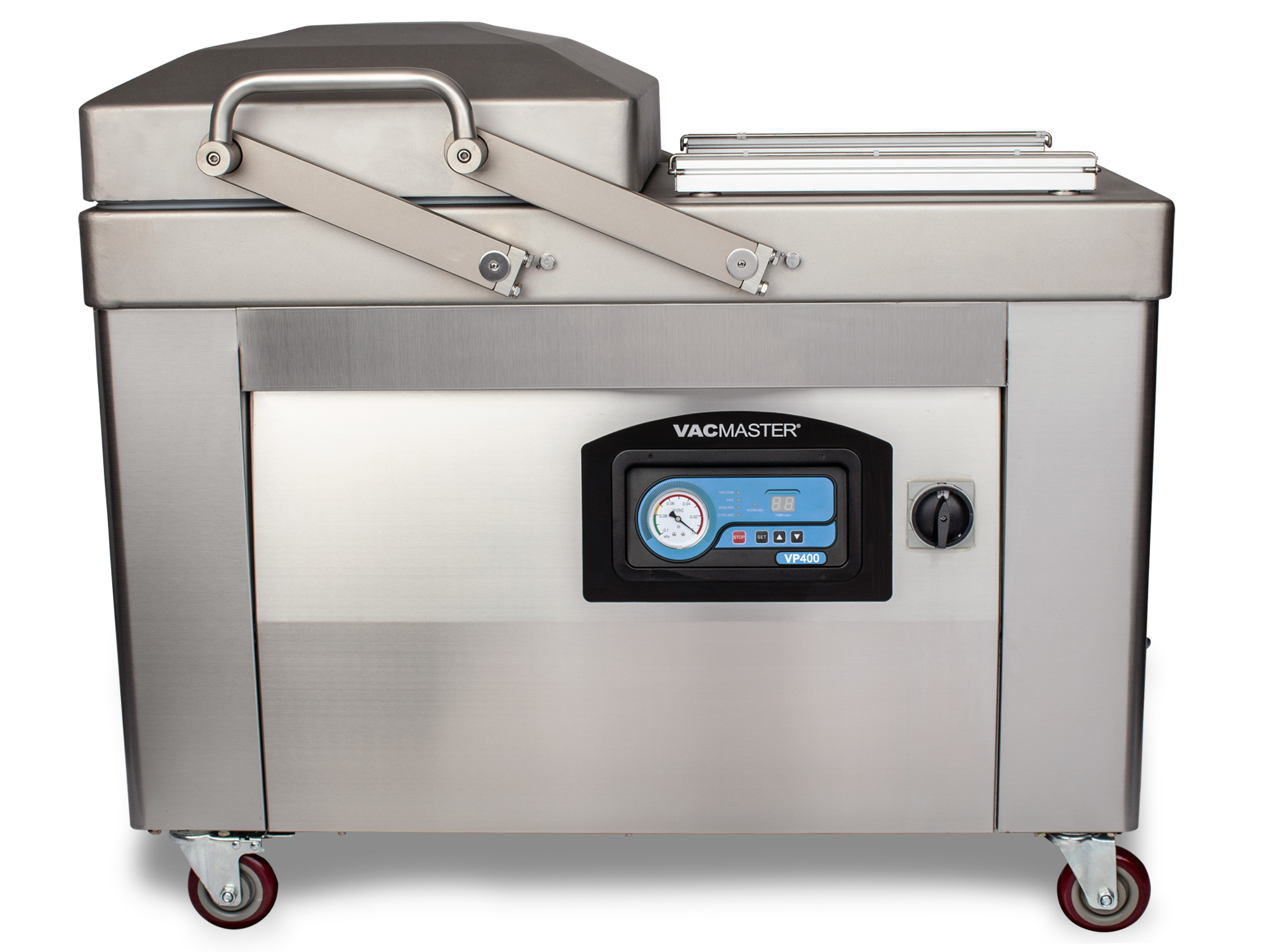 VacMaster VP400 Double Chamber Vacuum Sealer