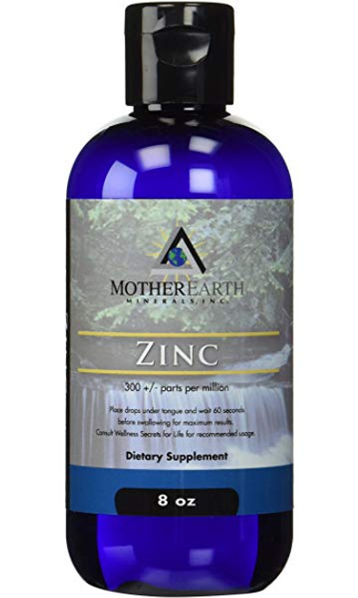 Mother Earth Minerals Ionic Zinc 8 oz