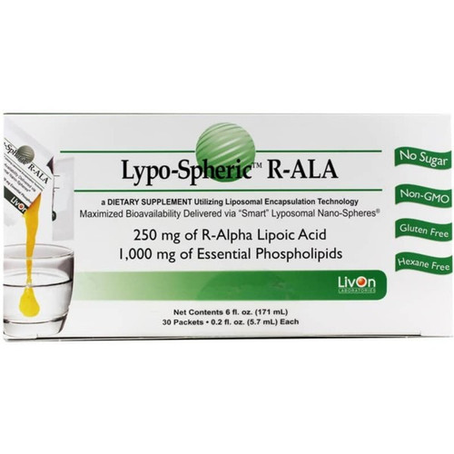 Lypospheric Alpha Lipoic Acid Box of 30 Packets