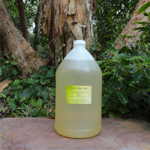 Professional Massage Oil #3 Safflower Grapeseed