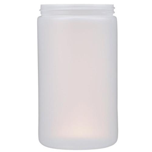 32 oz Natural Plastic Cylindrical Jar (89 mm)
