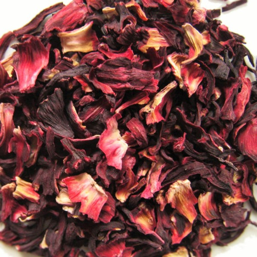 Hibiscus Flowers Organic Cut Bulk Herb