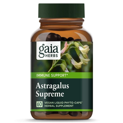 Gaia Herbs Astragalus Supreme 60 Liquid Herbal Extract Capsules