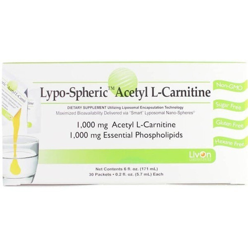 Lypospheric Acetyl L-Carnitine Box of 30 Packets