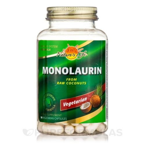 Monolaurin + Zinc Vegetarian 90 Capsules