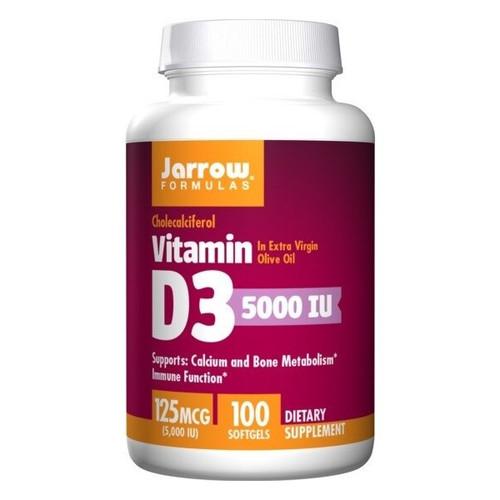 Vitamin D3 5000 IU 100 Capsules