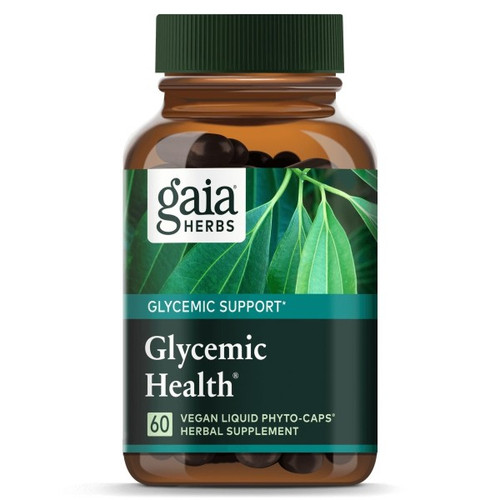 Gaia Herbs Glycemic Health  60 Liquid Phyto Caps
