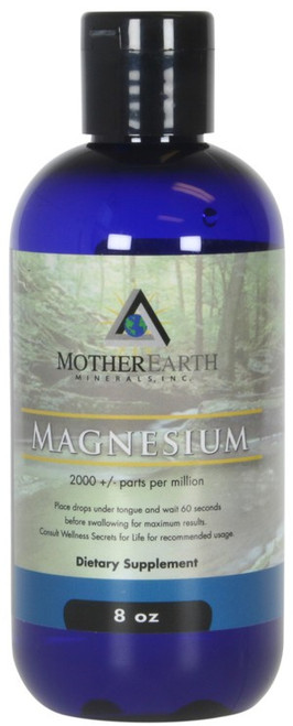 Mother Earth Minerals Ionic Magnesium 8 oz