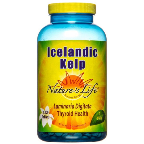 Icelandic Kelp Tablets 41 mg 1000 tablets