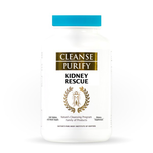 Cleanse Purify Kidney Rescue 180 Tablets