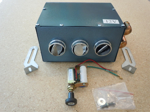 FRONT view of Heater