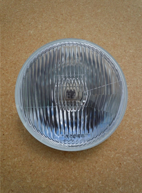 """7"""" CLASSIC LOOK REPLACABLE  BULB H4 HALOGEN HEADLIGHT"""