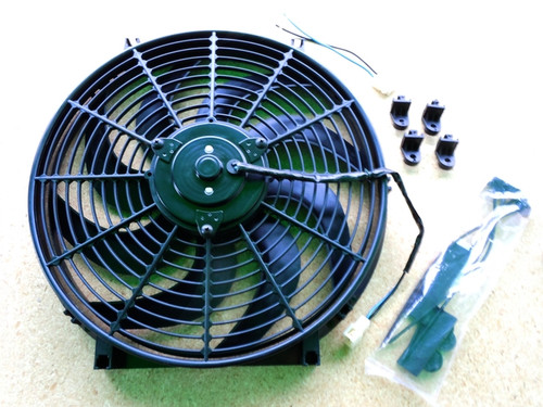 "16"" BLACK 3000 CFM ELECTRIC FAN"