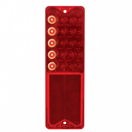 1967-72 Chevy Truck LED Tail Light Lens with SEQUENCER (Fleetside)