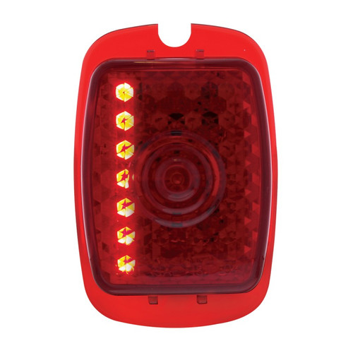 1940-53 Chev. TRUCK  LED Tail Light Lens R/H - SEQUENTIAL