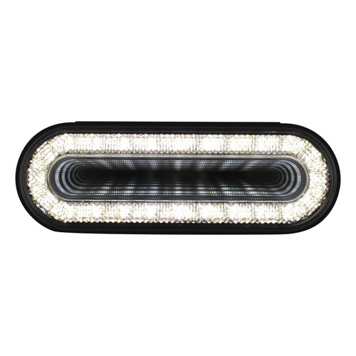 "6"" OVAL INFINITY LIGHT - WHITE"
