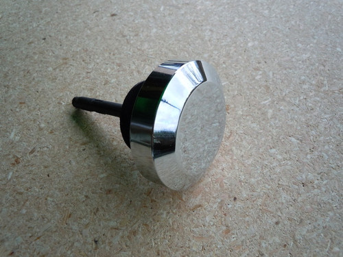 CHROME POWER STEERING CAP WITH DIP STICK
