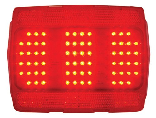 1964-66 Ford Mustang LED Tail Light Lens w/Sequencer