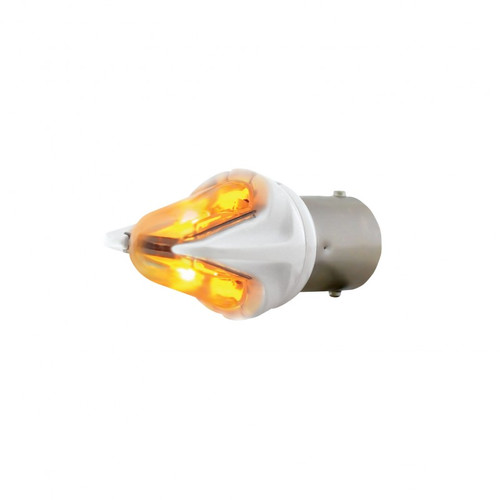 1156 HIGH POWERED LED REPLACEMENT BULB - AMBER