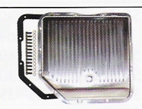 GM TURBO TH350 FINNED BILLET TRANSMISSION PAN