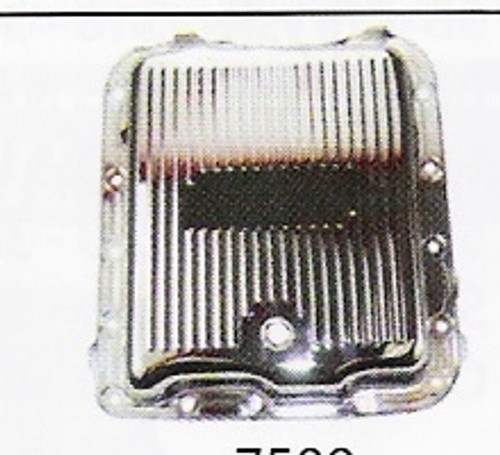 Gm 700r4 Transmission >> Gm 700r4 Chrome Finned Transmission Pan Streetrod Shop