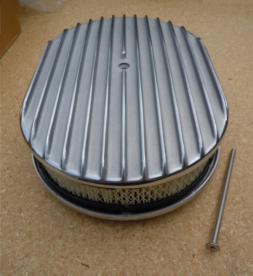 "15"" ALUMINUM AIR CLEANER FACE"