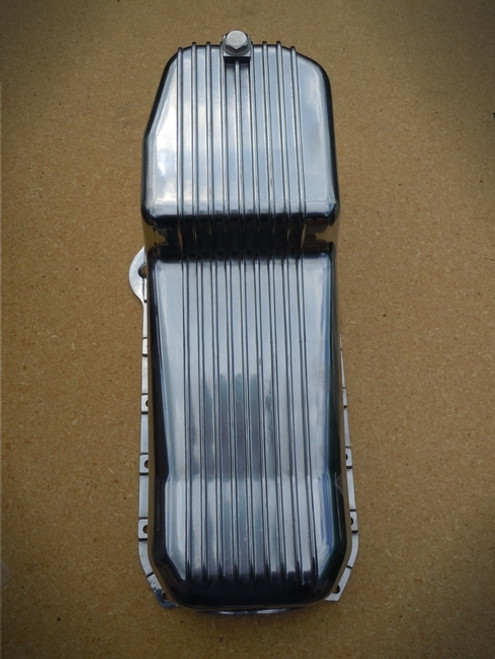 OIL PAN FINNED ALUMINUM SBC