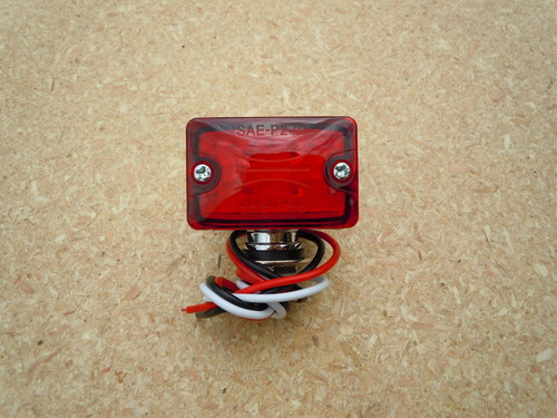 SMALL LED ROD LIGHT RED