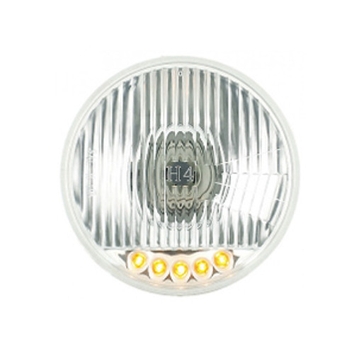 "5 LED 5-3/4"" HALOGEN HEADLIGHT w/TURN SIGNAL"