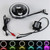 """5 3/4"""" CREE LED HEADLIGHT with COLOR CHANGING HALOS (SET OF 4)"""