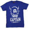 Captain America Portrait T-Shirt