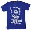Captain America Portrait T-Shirt