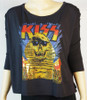 KISS Galaxy Long Sleeve T-Shirt