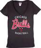 NBA Chicago Bulls Women's Champion Tee T-Shirt by Junk Food