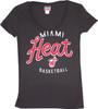BA Miami Heat Women's Scoop Neck T-Shirt