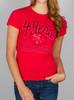 NFL Women's San Francisco 49ers Kickoff Crew T-Shirt