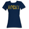 Rocky Movie Logo Juniors T-Shirt
