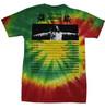 Bob Marley Exodus Tour 2-sided Tie Dye T-Shirt - back