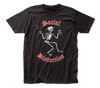 Social Distortion Skeleton, Red Print and Martini T-Shirt