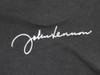 Signature on back of John Lennon tee