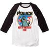 The Police North American Tour Raglan