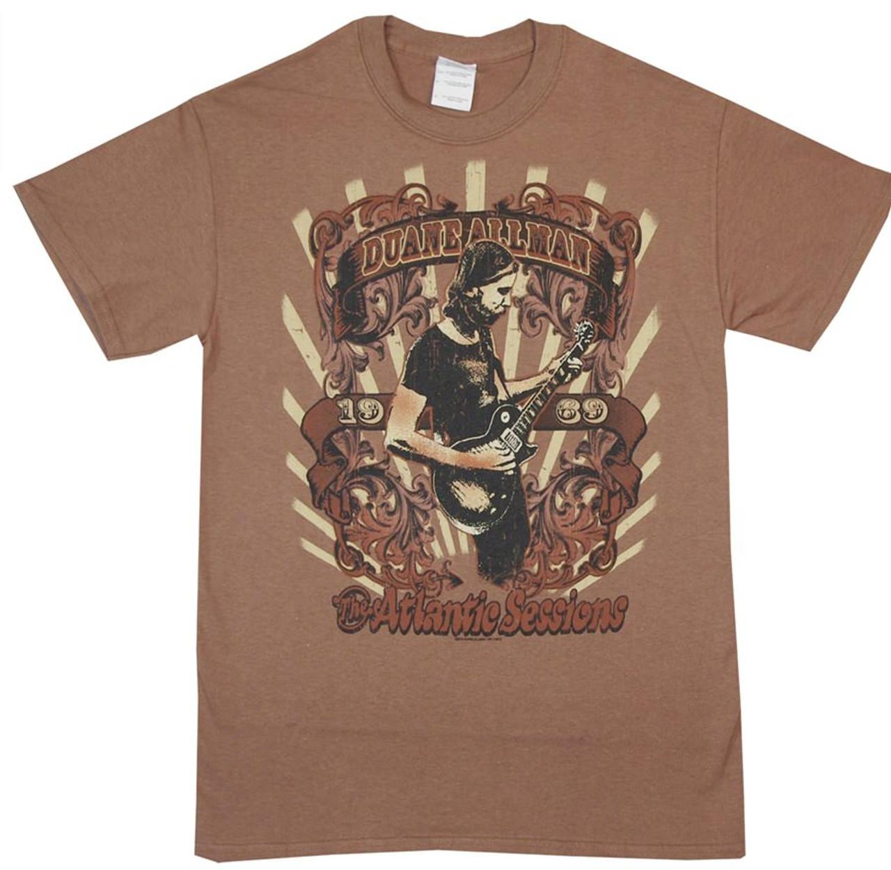 41b3dafa6e9 Duane Allman Atlantic Sessions T-Shirt